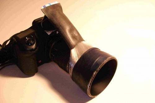 DIY Fiber Optic Camera Flash Ring
