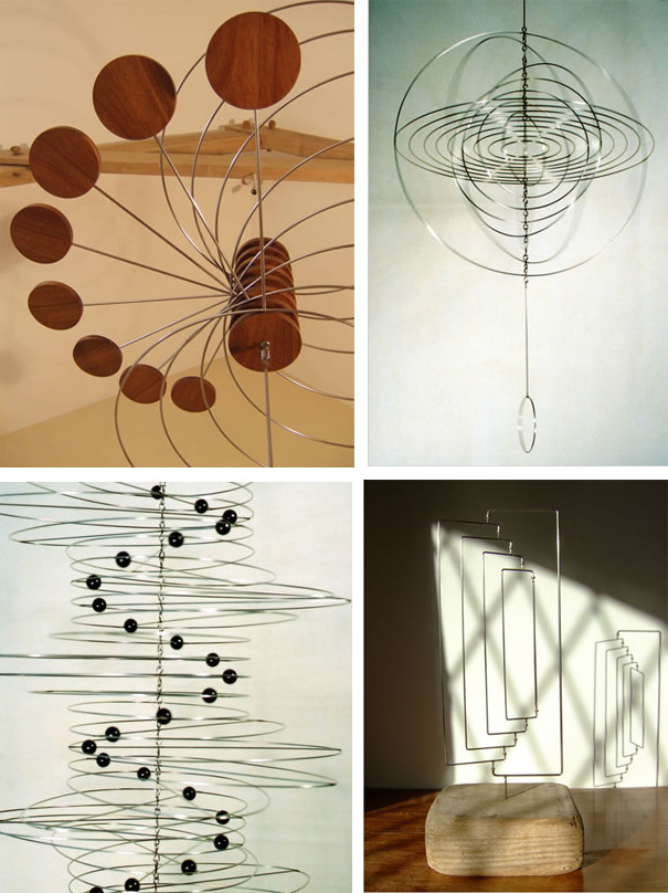 Ivan Black's kinetic sculptures