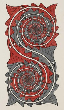 Whirlpools by M.C. Escher