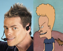 Vince the Shamwow Guy and Beavis: Long-Lost Twins?