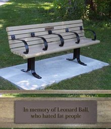 In memory of Leonard Ball...