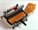 The Keyboard Waffle Iron by Chris Dimino
